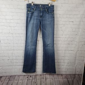 "7 For all mankind ""A"" pocket Jeans size 28"